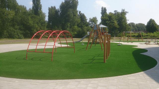 Kunstgras speeltuin