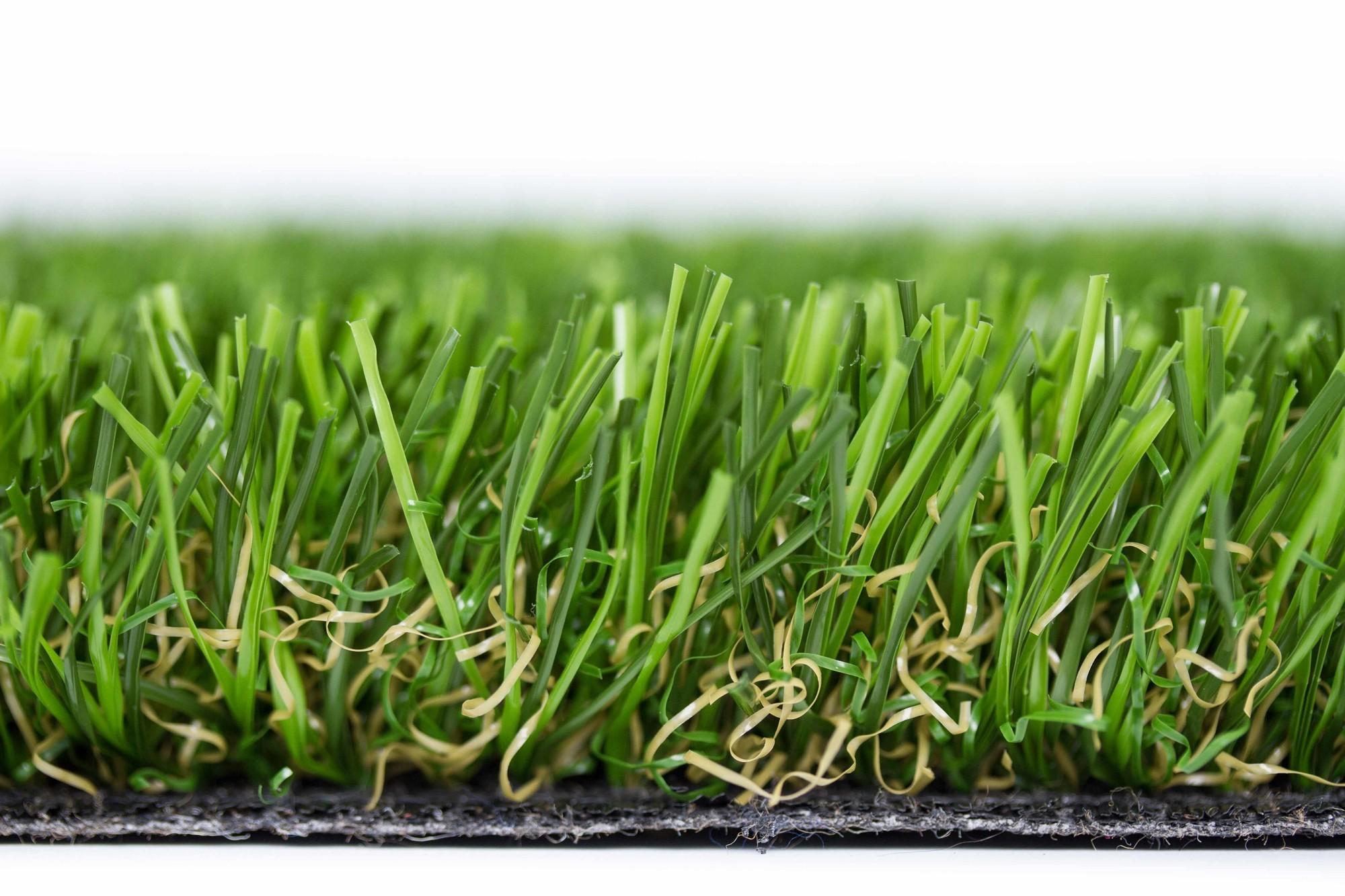 Kunstgras voetbal doorsnede